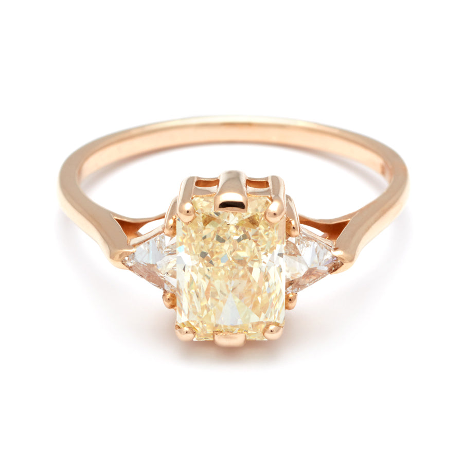 Diamond yellow engagement rings yellow gold fotos