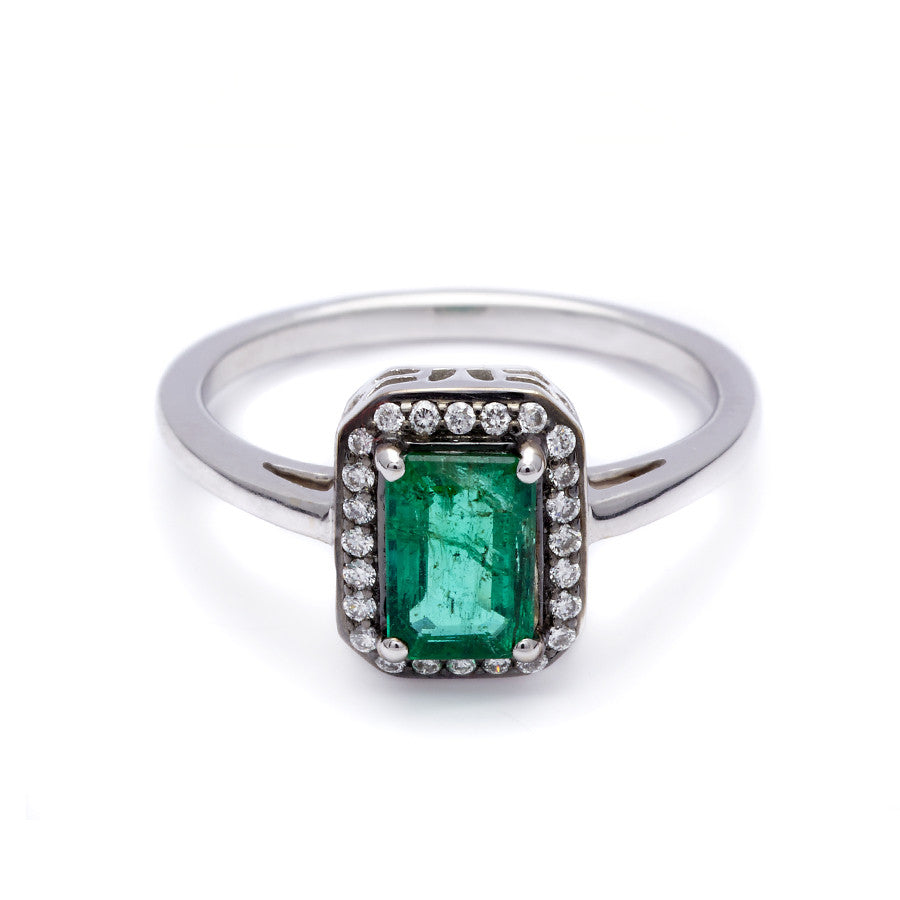 silver emerald rings products to green opal fire ring perfection