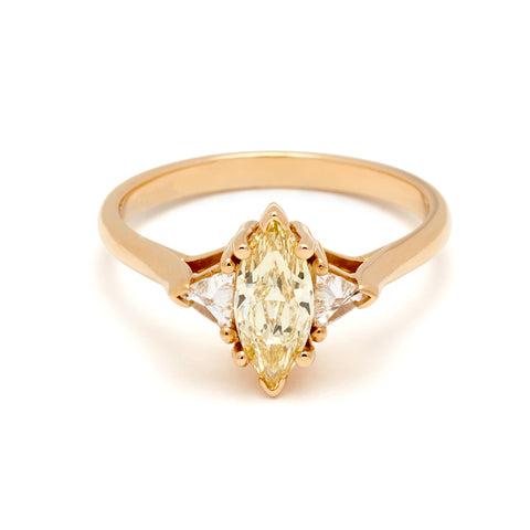 Yellow Gold Engagement Rings – Anna Sheffield Jewelry