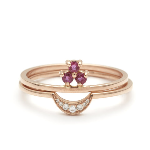 Shop Womens Stacking Wedding Bands Anna Sheffield Jewelry