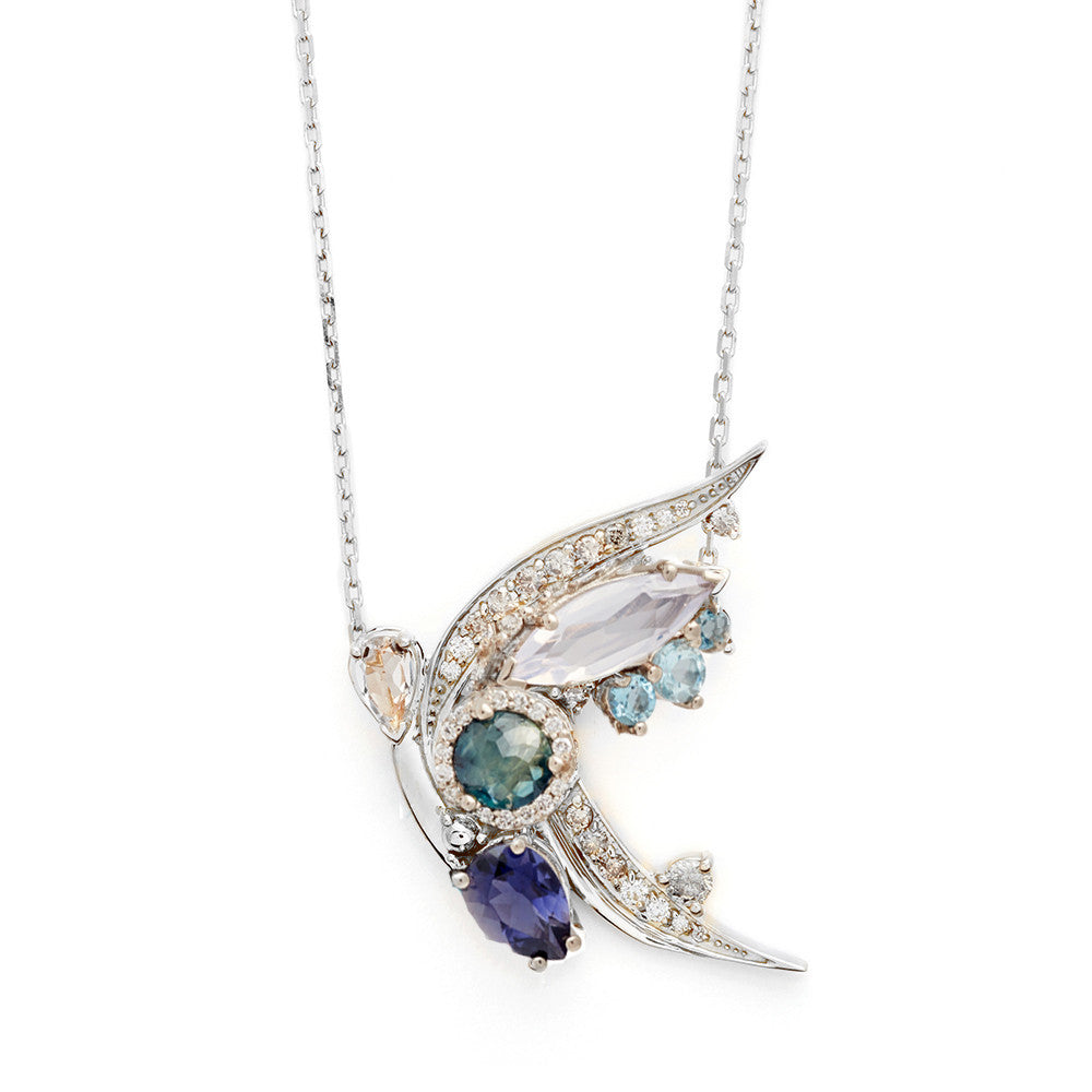 iolite product van river london peterson disc necklace stone