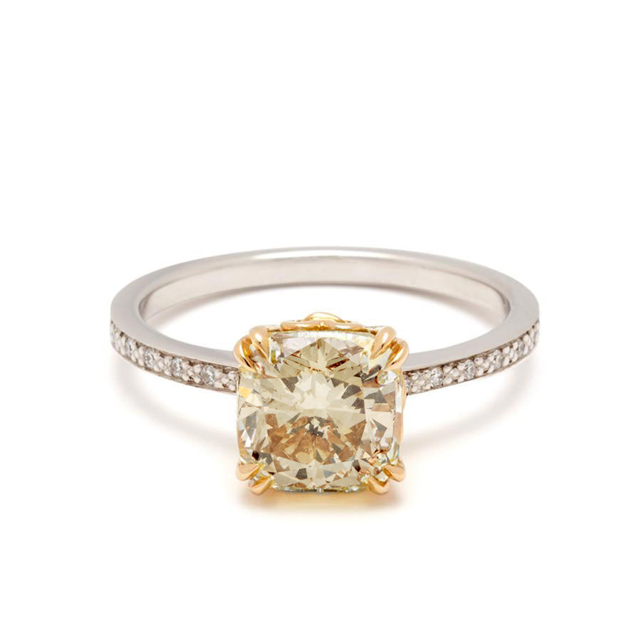 drop diamond stack in set off and alison rings champagne wedding tourmaline ring catkin