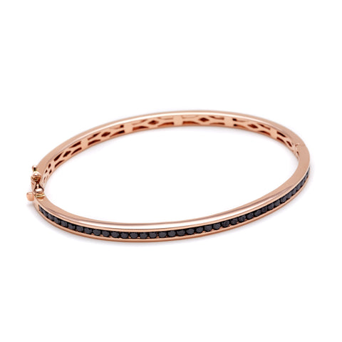 white eternity bracelets bangle real in bangles gold photo diamond htm f gi