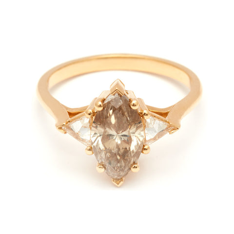 Marquise Engagement Rings – Anna Sheffield Jewelry