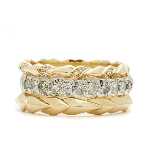stacking suite no 05 - Stackable Wedding Rings