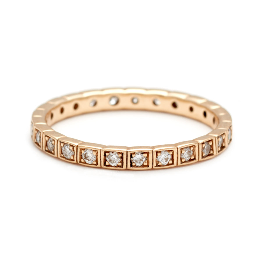 ring band diamond classic eternity bands gold coin with in side roberto italian diamonds section product white