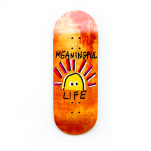 "Hand Painted ""Meaningful Life"" Limited Edition"