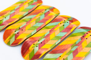 Colorful Random Angles Split Ply