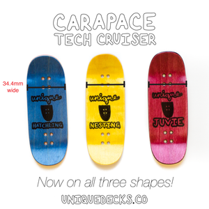 """Repeating Script"" Carapace Tech Cruiser"