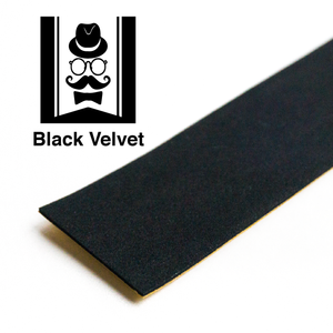 Fingerboard Connoisseur Black Velvet Tape Single Sheet