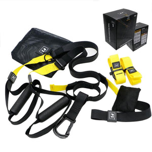 Resistance Band Suspension Trainer Hanging Belt Full Body Workout Pull Rope Straps Fitness Trainer Home Gym Exercise - Exercise Resistance Bands