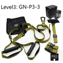 Load image into Gallery viewer, Resistance Band Suspension Trainer Hanging Belt Full Body Workout Pull Rope Straps Fitness Trainer Home Gym Exercise - Exercise Resistance Bands