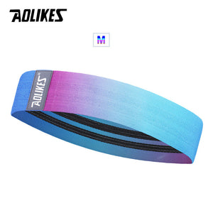 AOLIKES Unisex Booty Band Hip Circle Loop Resistance Band Workout Exercise for Legs Thigh Glute Butt Squat Bands Non-slip Design - Exercise Resistance Bands