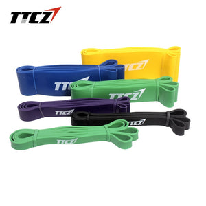 TTCZ Yoga Pull Up Assist Bands Cross fit Exercise Body Fitness Resistance Bands Physio Aerobics Stretching Belt - Exercise Resistance Bands
