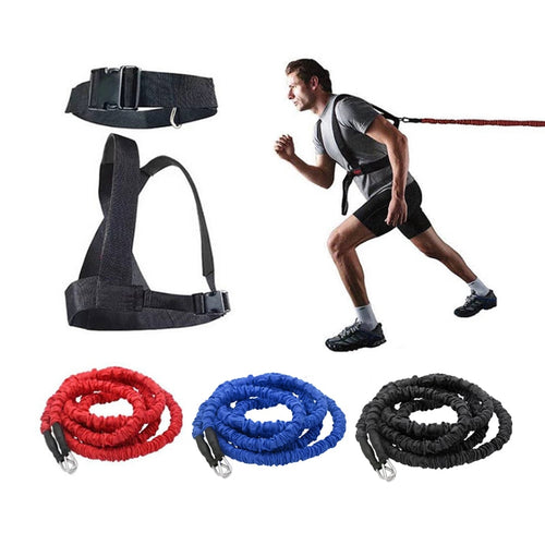 Explosive Track & Field Training Harness + Band - Exercise Resistance Bands