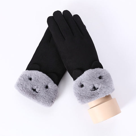 Wrist Women Driving Gloves