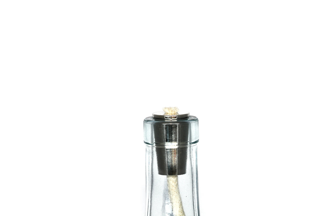 Winelight™ Metal Bottle Wick - Silver