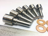 Dodge 04.5-07 Injector Nozzle Set 30 Percent Over 90hp Dynomite Diesel