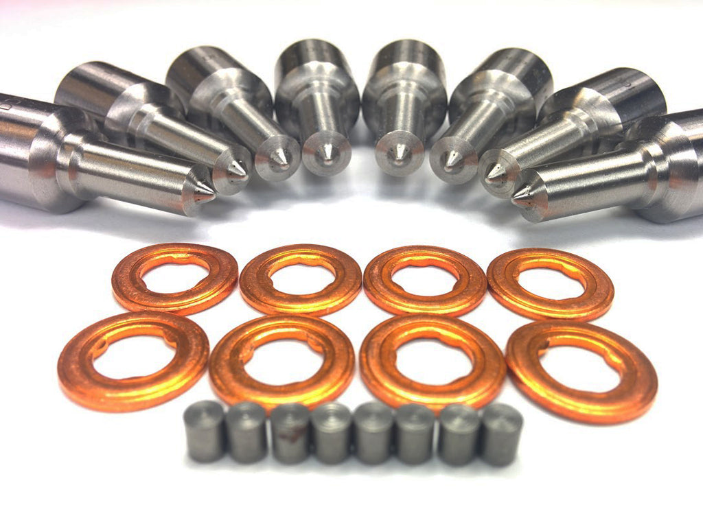 Ford 6.0L Injector Nozzle Set 90hp 30 percent Over Dynomite Diesel
