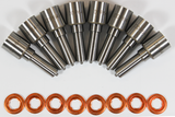 Ford 6.4L 08-10 Nozzle Set 6 Hole 60 Percent Over Dynomite Diesel