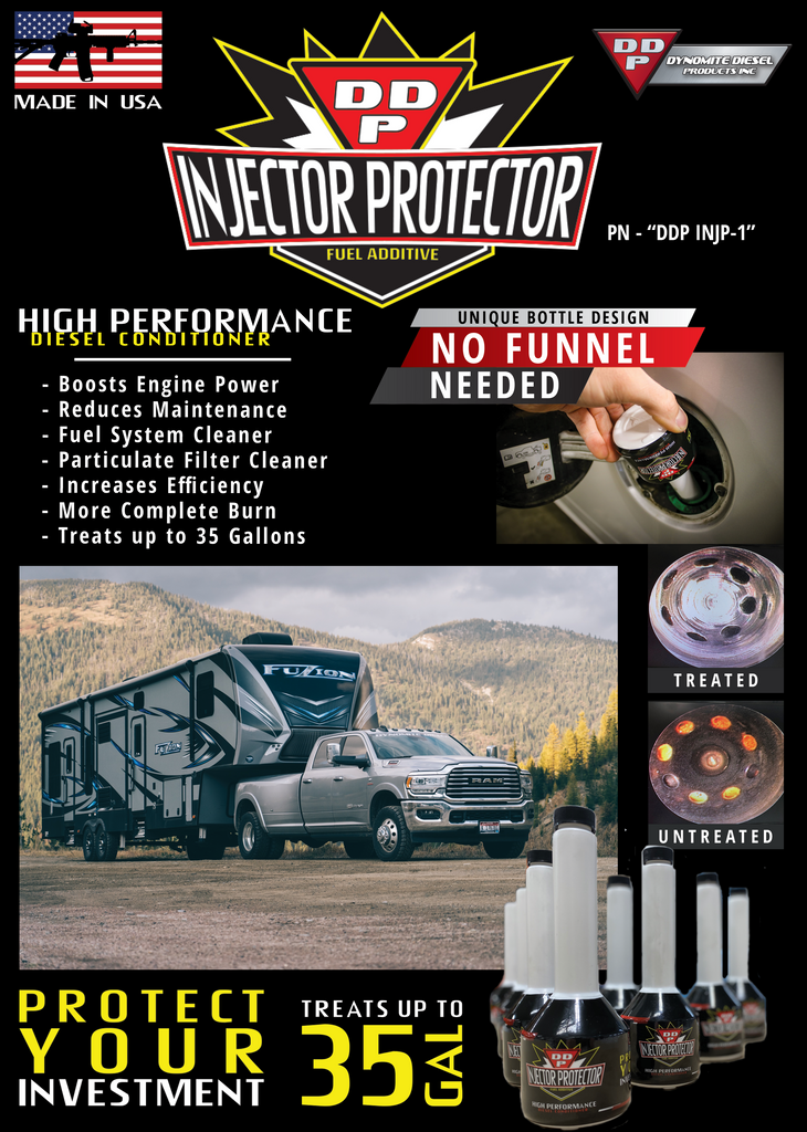 Injector Protector - Diesel Fuel Additive
