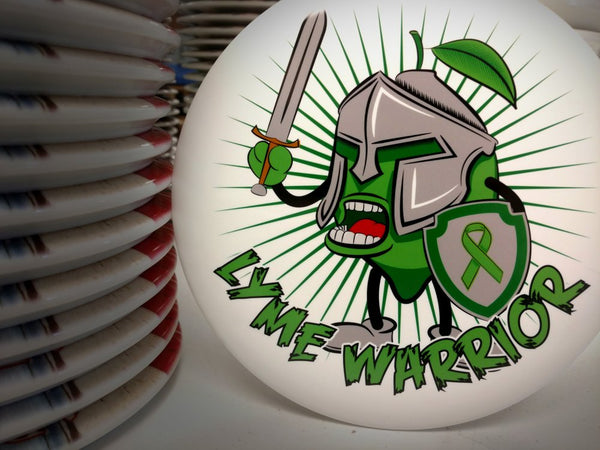 Adam Lamar: Lime Warrior Limited Edition Fundraiser