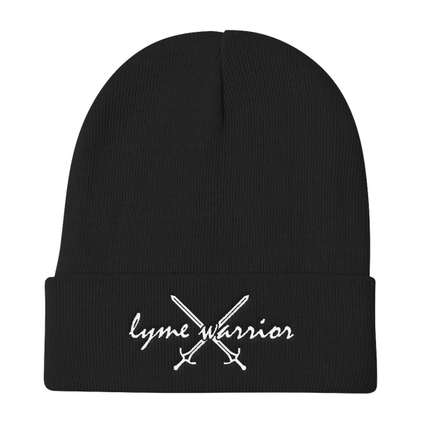 Lyme Warrior DG Knit Beanie