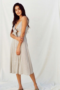 Riviera Maxi Sleeveless Dress