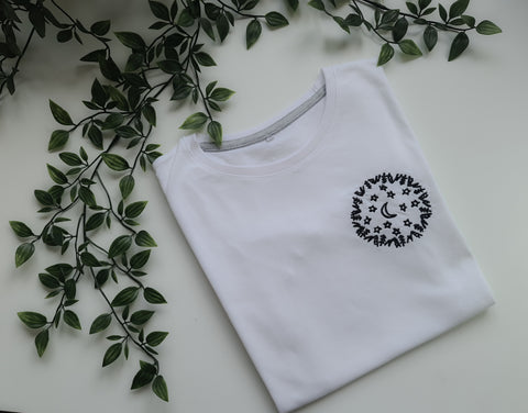 Embroidered T-Shirt – Night Howl