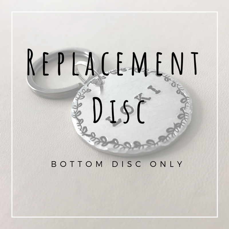 Replacement Disc (Large Bottom Disc Only)