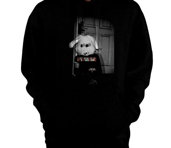 I Hate Being Bipolar It's Awesome Bunny Pullover Hoodie