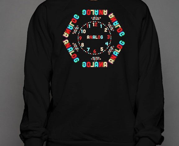 Analog Face Crewneck Sweatshirt