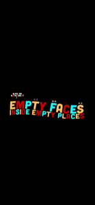 Empty Faces Inside Empty Places Pullover Hoodie
