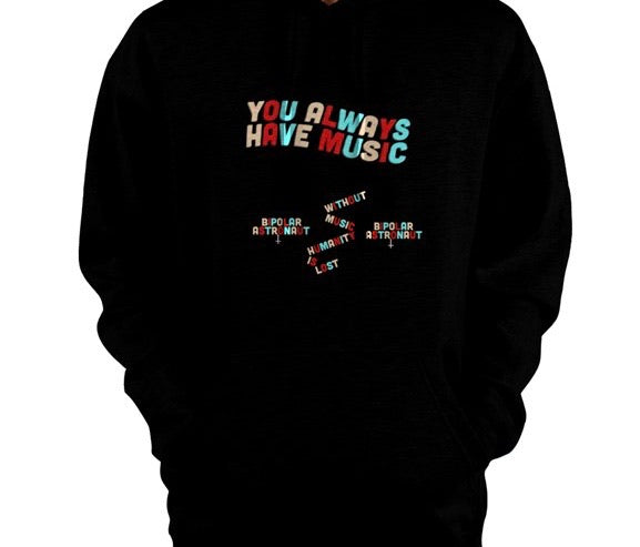 Without Music Humanity Is Lost Pullover Hoodie