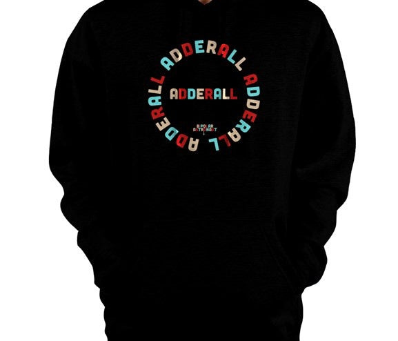 Adderall Pullover Hoodie