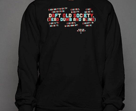 Faces Of Society Crewneck Sweatshirt