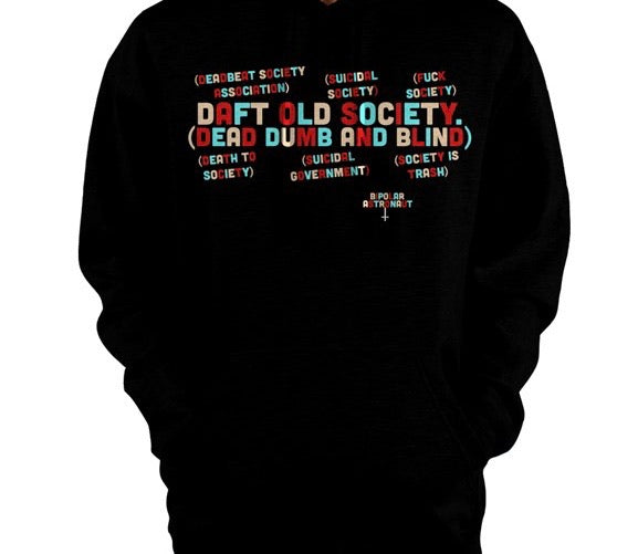 Faces Of Society Pullover Hoodie
