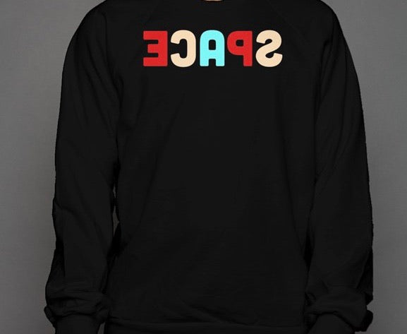 Space Backwards Crewneck Sweatshirt
