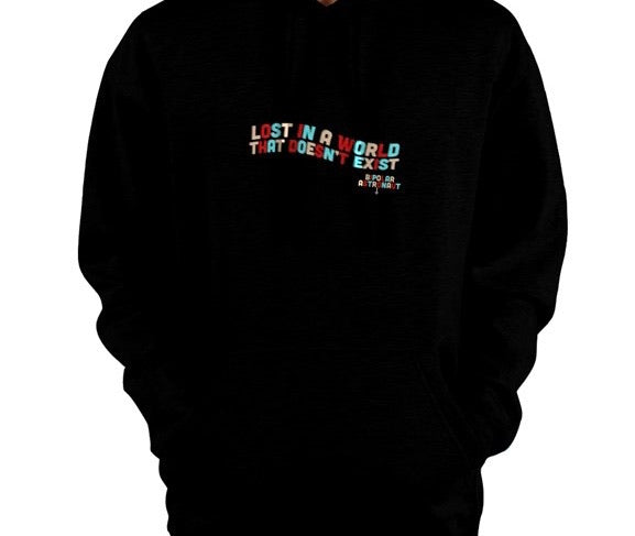 Lost In A World That Doesn't Exist Pullover Hoodie