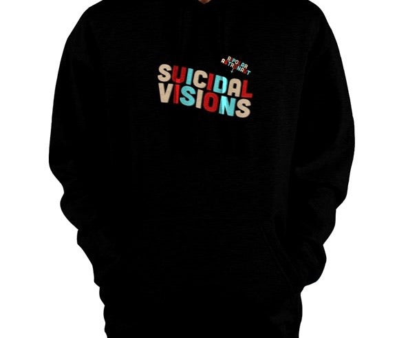 Suicidal Visions Pullover Hoodie
