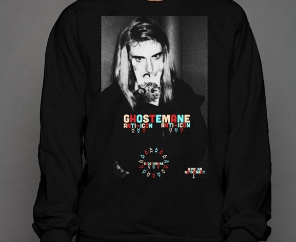 Ghostemane Anti-Icon Crewneck Sweatshirt