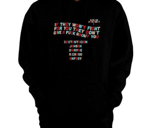 Cold Truths Quote Pullover Hoodie