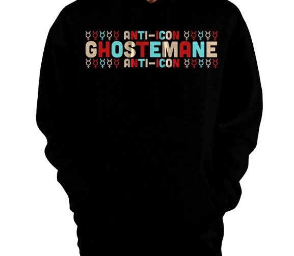 Ghostemane ☿☿☿☿☿ Anti-Icon ☿☿☿☿☿ Pullover Hoodie