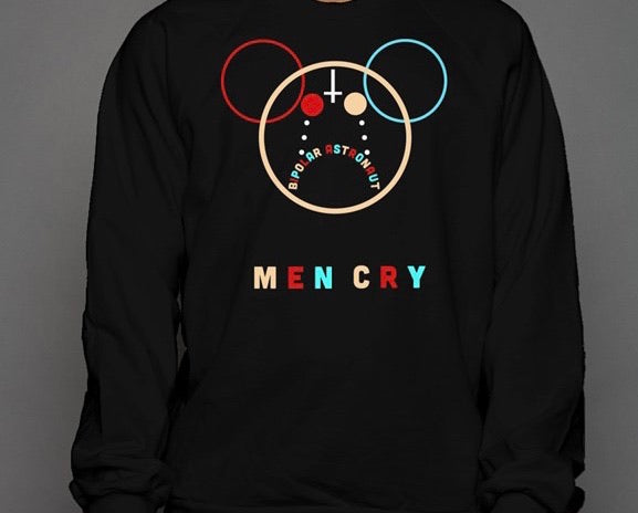 Men Cry Crewneck Sweatshirt