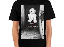 Load image into Gallery viewer, F U C K  T H E  W O R L D (Bunny) Crewneck T-Shirt