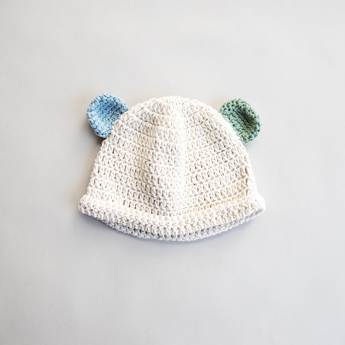 Designer Crocheted Baby Hat and Booties Set e22d6c48d82
