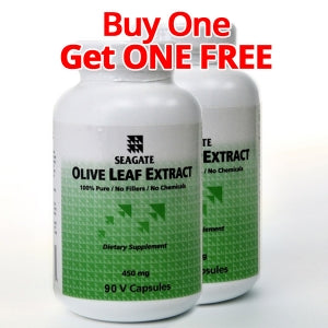 Olive Leaf Extract 450mg 90 V Caps