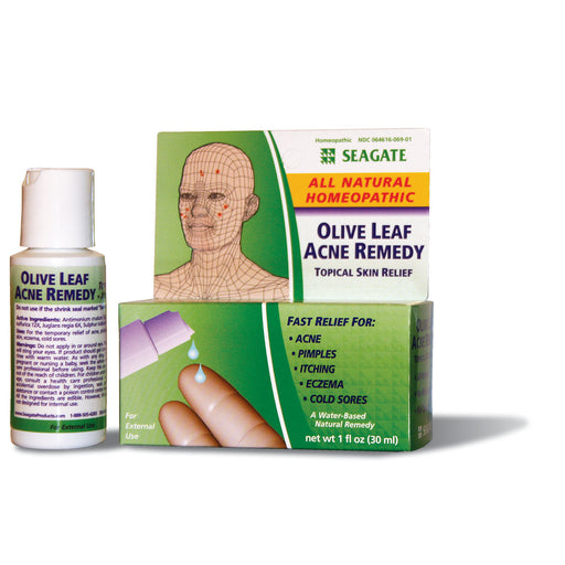 Olive Leaf Acne Remedy 1 oz Bottle