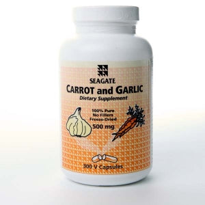Carrot and Garlic 500mg 300 V Caps
