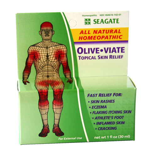 OliveViate Topical Skin Relief 1 oz Bottle